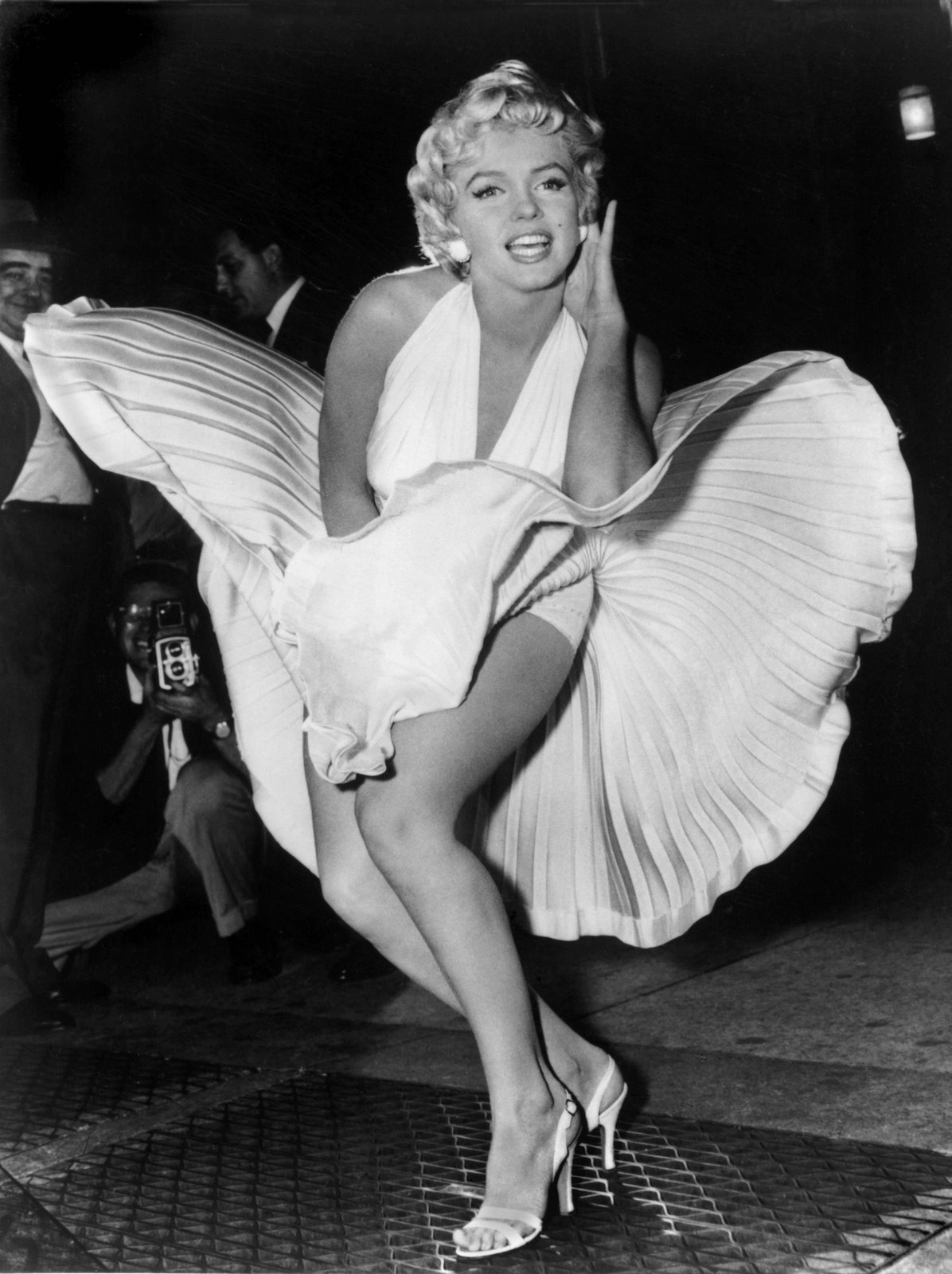 Marilyn Monroe in dress Debbie Reynolds The Auction Press Release