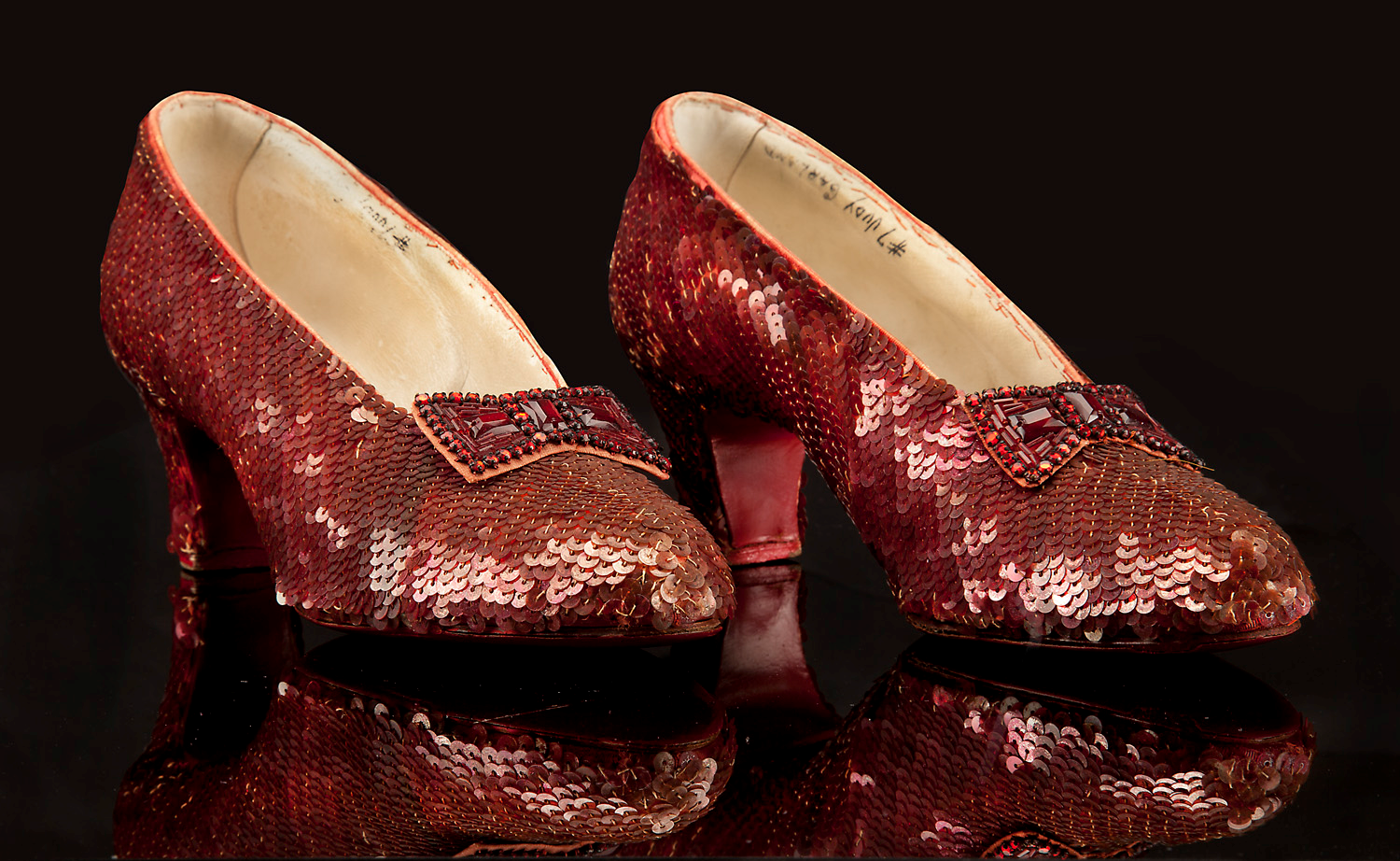 cd0703143de PROFILES IN HISTORY SET TO AUCTION OFF THE MOST ICONIC HOLLYWOOD TREASURE OF  ALL TIME THE SCREEN USED RUBY SLIPPERS FROM THE WIZARD OF OZ