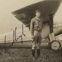 Charles Lindbergh Excellent Photograph Signed Spirit of St Louis 200x200 Products Page