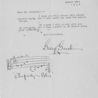 George Gershwin TLS with Autograph Musical Quotation Rhapsody in Blue 200x200 Products Page