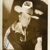 Hoot Gibson Vintage Signed Photograph 200x200 Products Page
