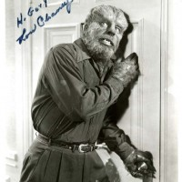 Lon Chaney Jr as The Wolf Man 1 200x200 Products Page