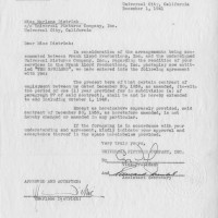 Marlene Dietrich Legal Contract Signed The Spoilers 1941 200x200 Products Page