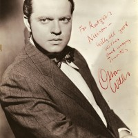 Orson Welles Oversize Vintage Photograph Signed 200x200 Products Page