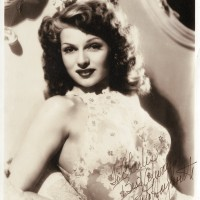 Rita Hayworth Vintage Photograph Signed 200x200 Products Page