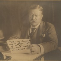 Theodore Roosevelt Superb Oversize Photograph Signed as President to His Doctor 200x200 Products Page