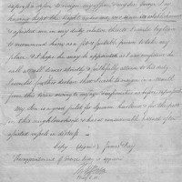 Thomas Jefferson Autograph Endorsement Signed as President Appointment of Son 200x200 Products Page
