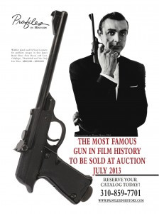 James Bond Walther Pistol 224x300 Mystery Item Revealed: James Bonds famous 007 Walther pistol