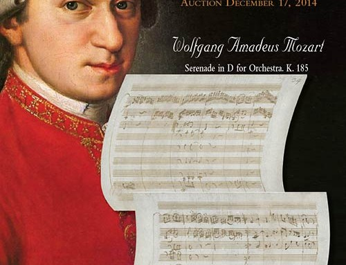 A Celebration of Music: The Property of a Private Collector