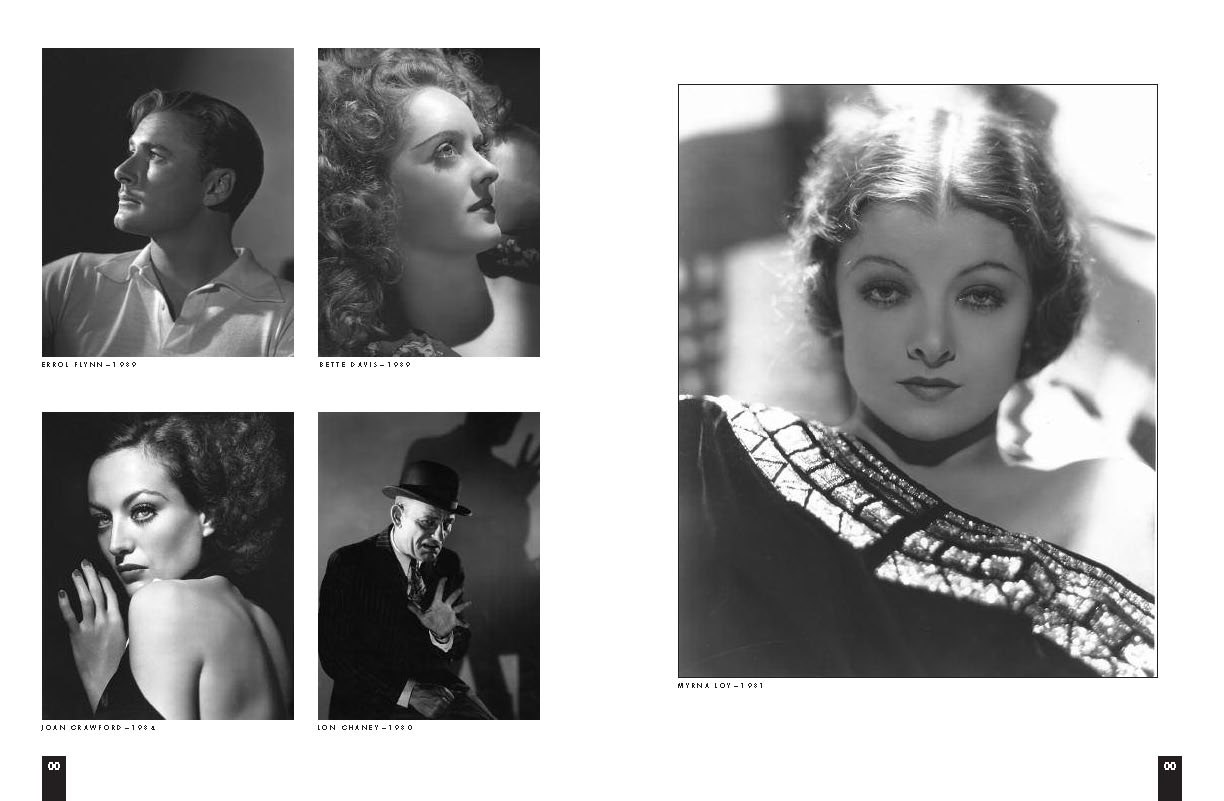 bw hurrell snip it article with 5 photos of actors from the 30s and 40s