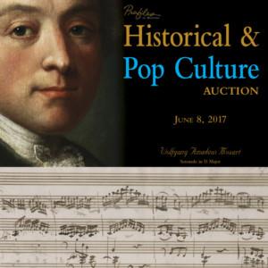 Historical & Pop Culture Auction 91